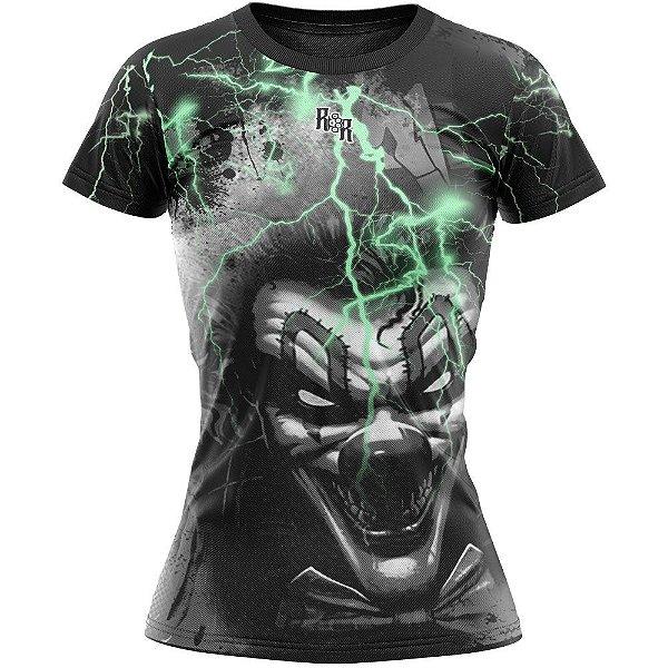 Camiseta Feminina Palhaço Raio