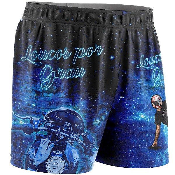 Shorts Feminino Loucos Por Grau
