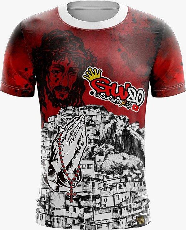 Camiseta Favela Venceu Vermelha