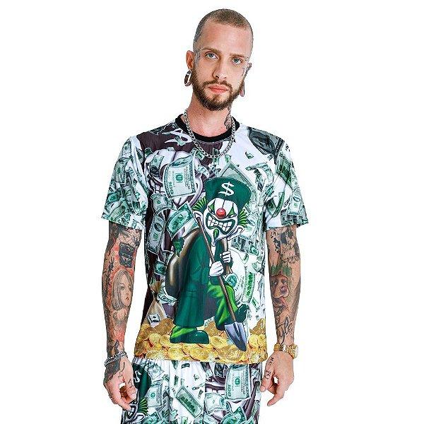 Camiseta Quebrada Palhaço Metralha