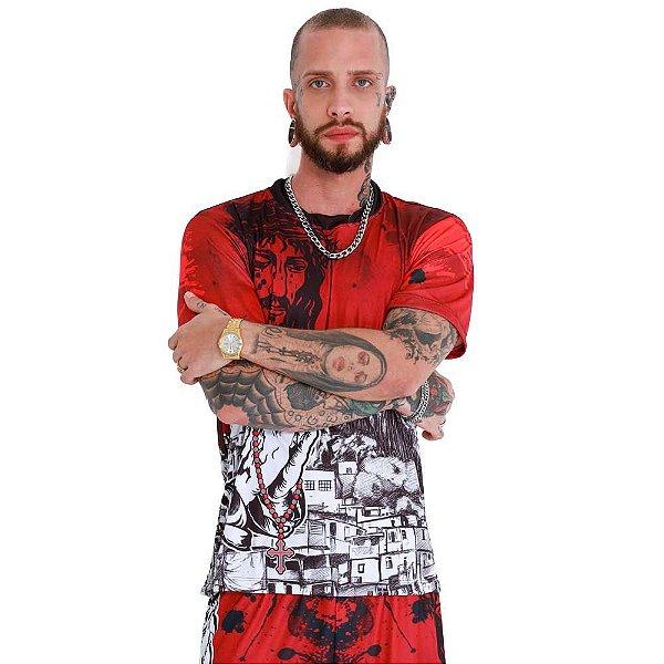 Camiseta Favela Venceu