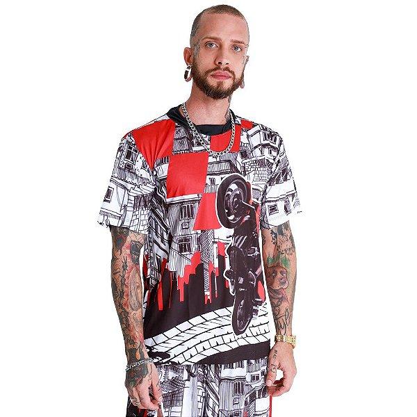 Camiseta Grau 244 Na Favela