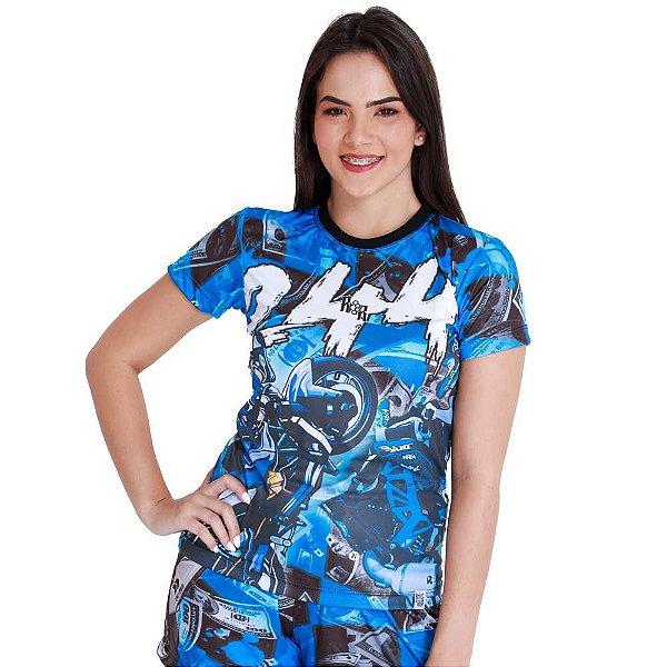 Camiseta Feminina 244 Não É Crime