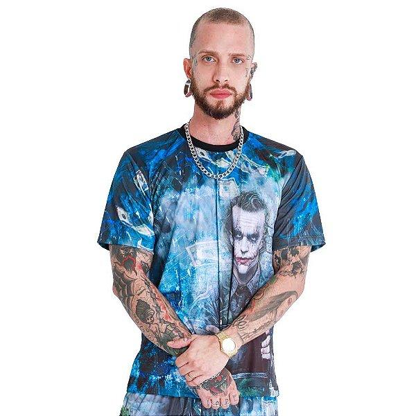 Camiseta Coringa Preta