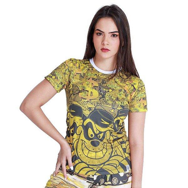 Camiseta Feminina Irmãos Metralha Favela