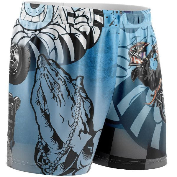 Shorts Passou Cortou Raspou