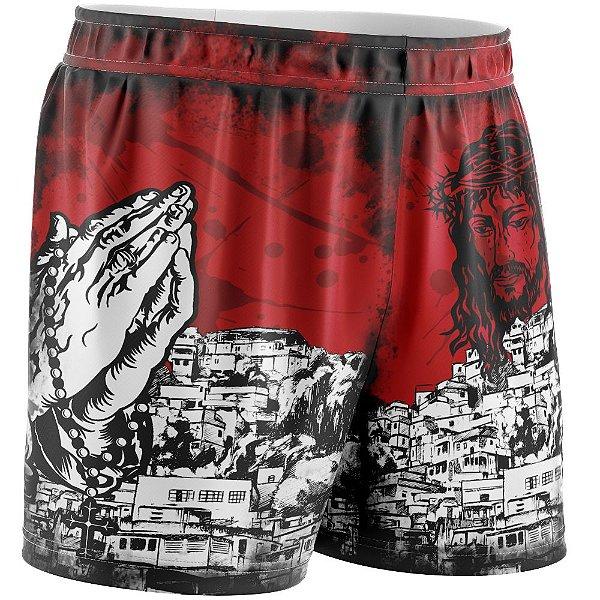 Shorts Feminino Favela Venceu