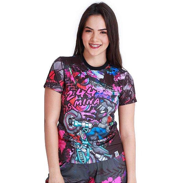 Camiseta Feminina 244 Das Mina
