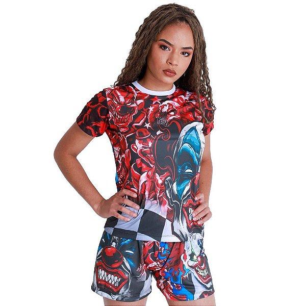 Camiseta Feminina Quebrada Palhaço It