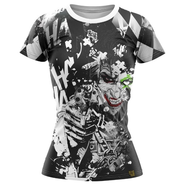 Camiseta Feminina Coringa Hahaha