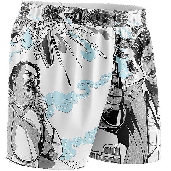 Shorts Feminino Quebrada Pablo Escobar