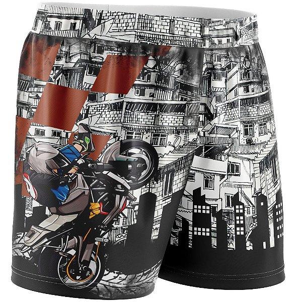 Shorts Feminino Grau 244 na Favela