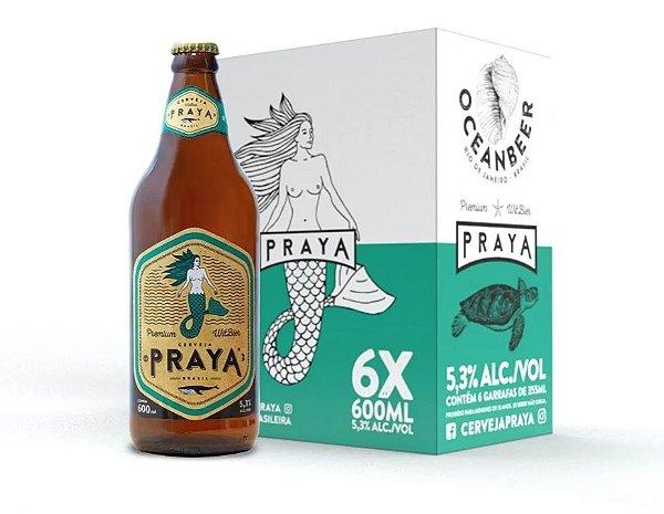 Cerveja Praya 600ml - Caixa com 6 unidades