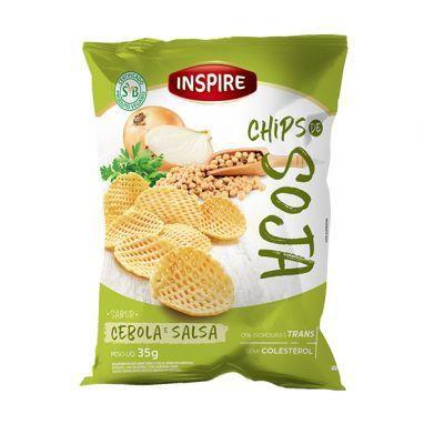 Chips De Soja Salsa E Cebola