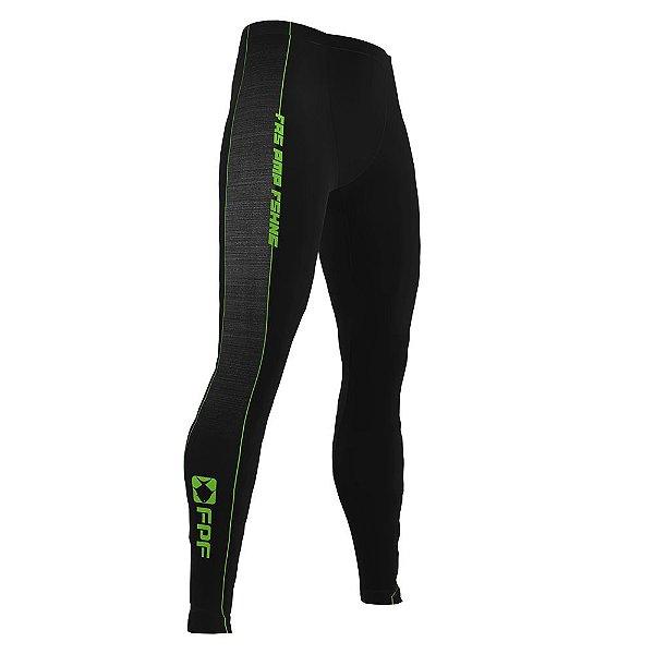 Calça Fpf Masculina Compressão Detalhe Verde