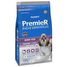 Ração Premier Shih Tzu Raças Específicas para Cães Adultos 1kg