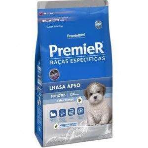 Premier Lhasa Apso Filhote Ração Raças Específicas para Cães 1Kg