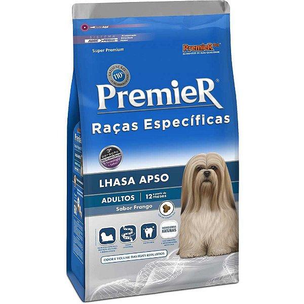 Ração Premier Lhasa Apso Raças Específicas Cães Adultos 1kg