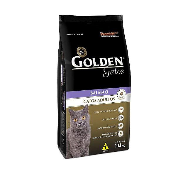 Ração Golden para Gatos Adultos Sabor Salmão 1kg