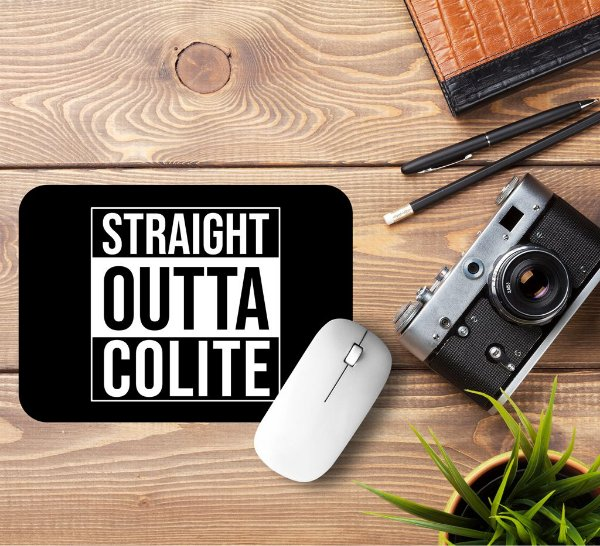 Mousepad Straight Outta Colite