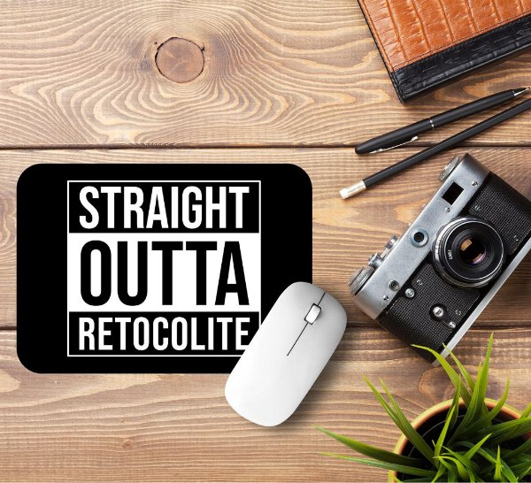 Mousepad Straight Outta Retocolite