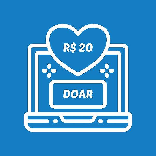 DOE R$ 20,00