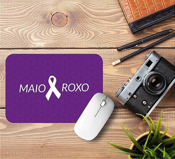 Mousepad Maio Roxo