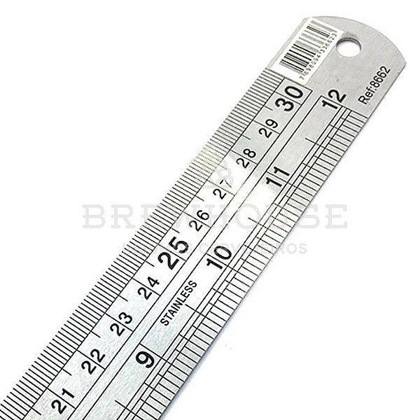 RÉGUA DE INOX - 60 cm