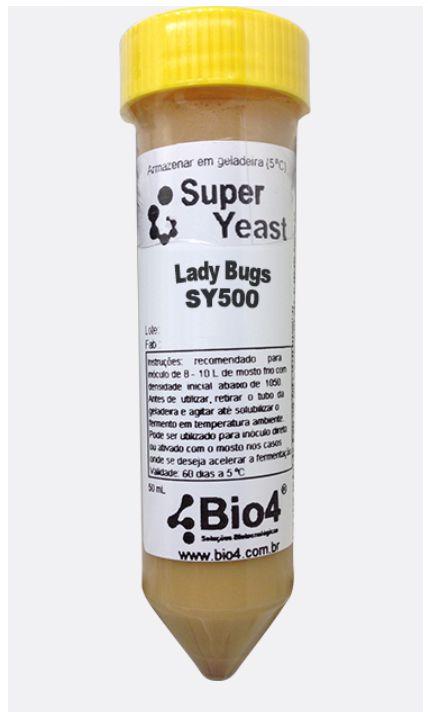 FERMENTO LÍQUIDO BIO4 BRETTANOMYCES  LADY BUGS – SY500