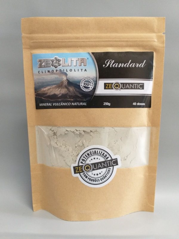 ZEOLITA - CLINOPTILOLITA STANDARD FREQUENCIADA  250g