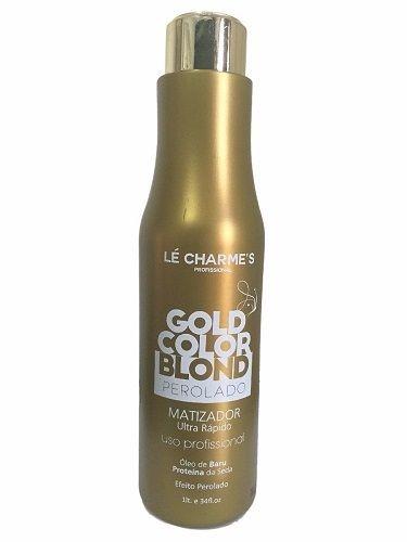 Le Charmes Matizador Gold Color Blond Perolado Profissional 1L