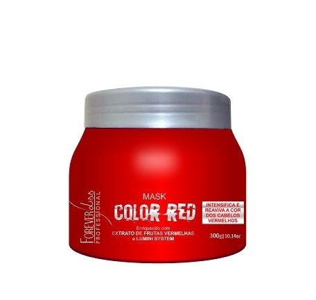 Máscara Tonalizante Color Red Forever liss 250g