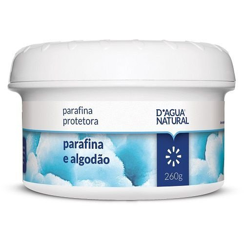 Parafina Protetora Algodão 260g - D'agua Natural