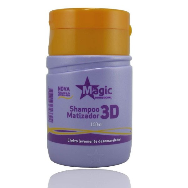 Magic Color Shampoo Matizador 3D - 100ml