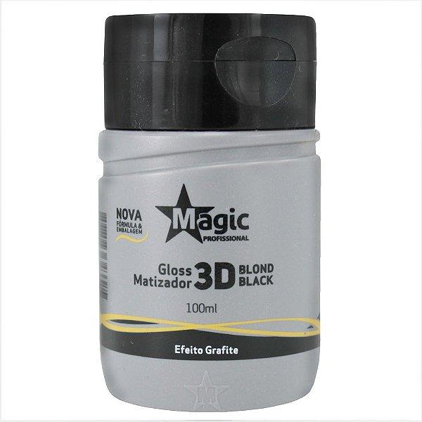 Matizador Blond Black 3D Efeito Grafite 100ml - Magic Color