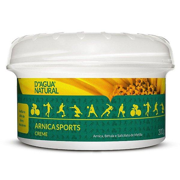 Creme de Massagem Arnica Sports D'agua Natural 300g