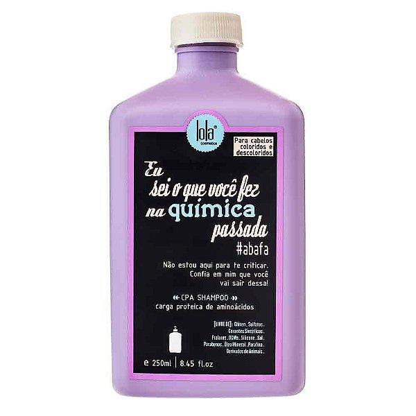 Shampoo Lola Eu Sei o Que Você Fez na Química Passada - 250ml