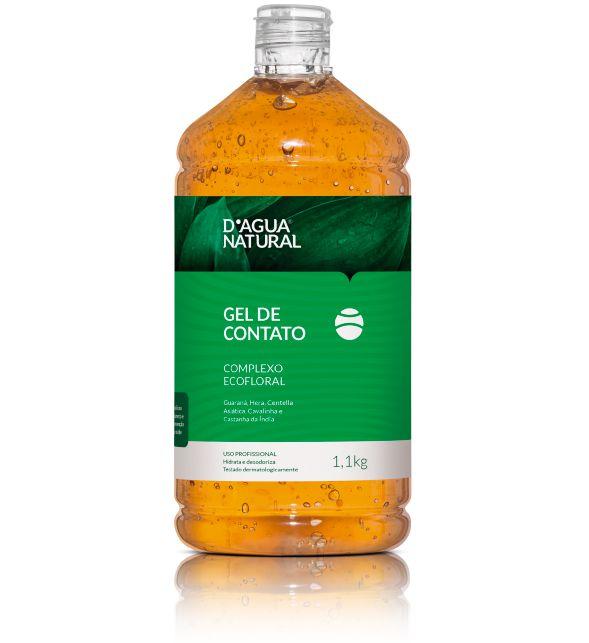 D'Água Natural Gel de Contato Complexo Ecofloral - 1,1kg