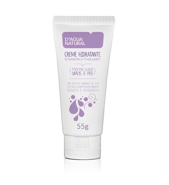 D'Água Natural Creme Hidratante Mãos e Pés Home Care - 55g