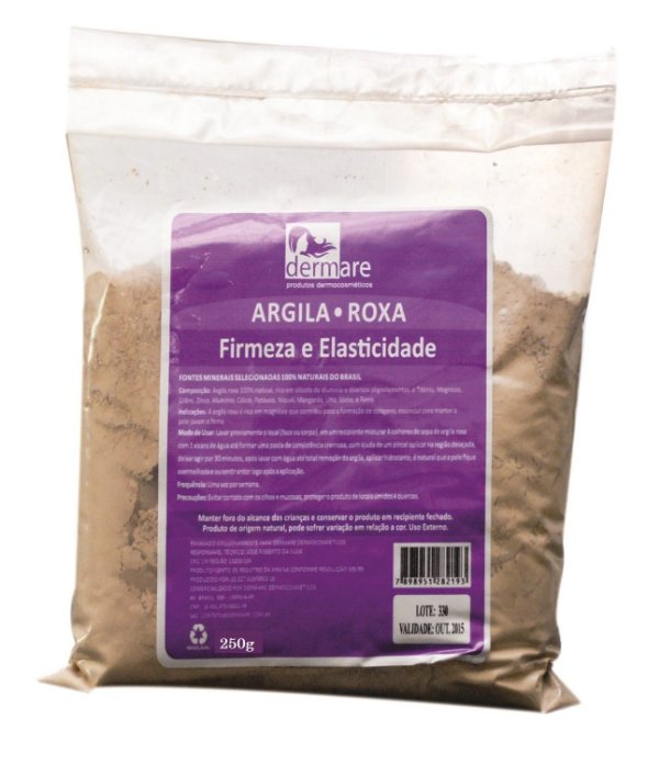 Dermare - Argila Roxa 250g