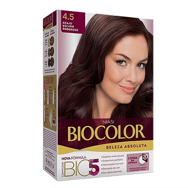 Tintura Biocolor Acaju Escuro Poderoso 4.5
