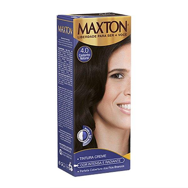 Tintura Maxton 4.0 Castanho Natural