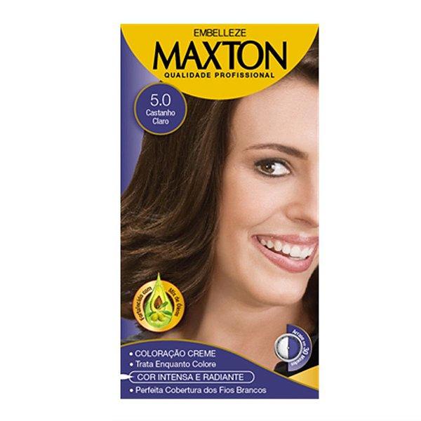 Tintura Maxton 5.0 Castanho Claro