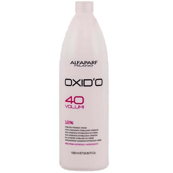 Alfaparf Água Oxigenada Cremosa Oxid'O 40 Volumes - 1L