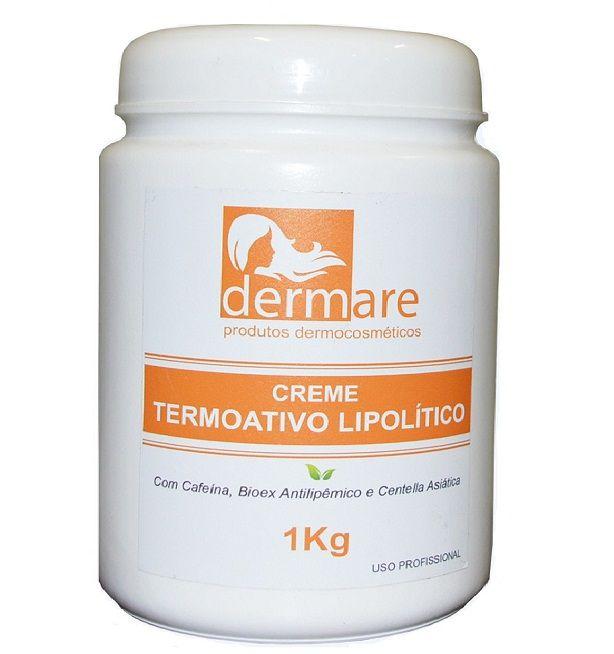 Dermare Creme Termoativo Lipolitico 1kg