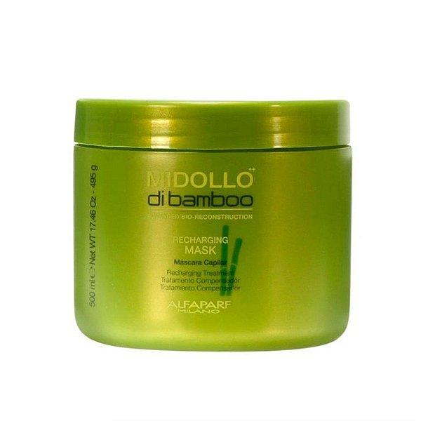 Máscara Capilar Midollo Di Bamboo Recharging Treatment Alfaparf