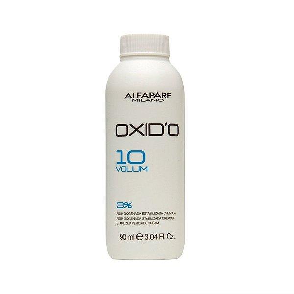 Alfaparf Água Oxigenada Cremosa Oxid'O 10 vol - 90ml
