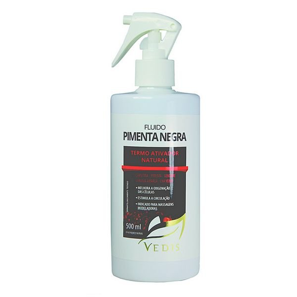 Fluído Termo Ativo de Pimenta Negra Vedis - 500ml