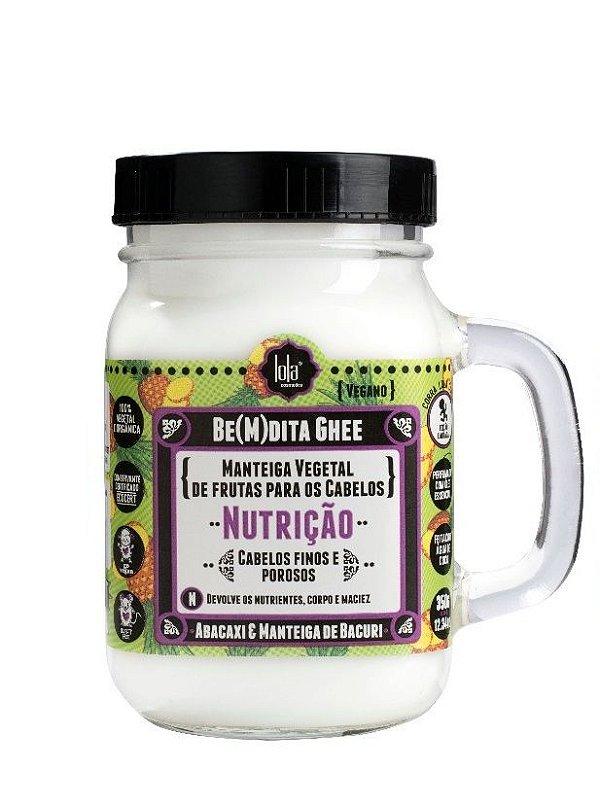 Be(M)dita Ghee Manteiga Vegetal Nutrição 350g - Lola Cosmetics