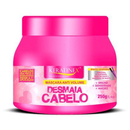 Mascara Desmaia Cabelo Efeito Chapinha Keratinex - 250g